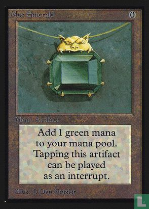 1993) Collector's Edition - Mox Emerald