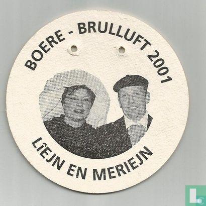 Nederland - Boere-Brulluft 2001 - Liejn en Meriejn