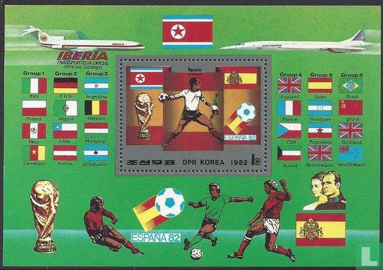 Noord-Korea - WK-voetbal Spanje (getand)