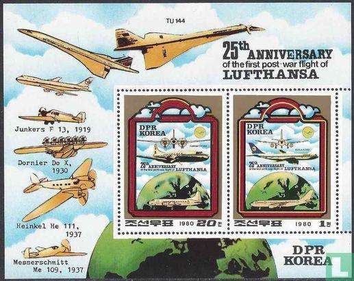 Noord-Korea - Vlucht Lufthansa (getand)