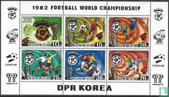 Noord-Korea - WK Voetbal (getand)