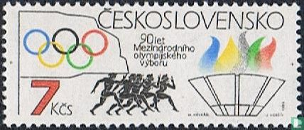 Czechoslovakia - 90 years of IOC