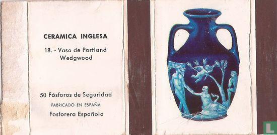 Vaso de Portland Wedgewood