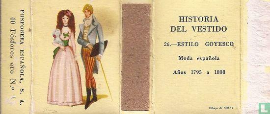 Estilo goyesco- Anos 1795 a 1808