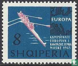 Albanie [ALB] - Championnat d'Europe d'aviron