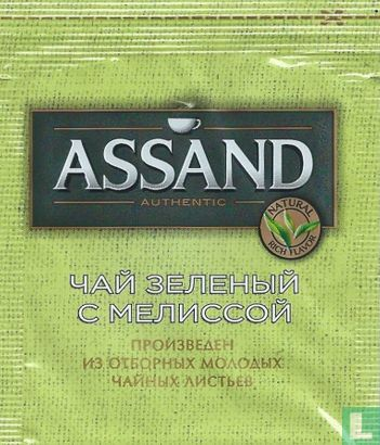 Assand - Green Tea with Melissa