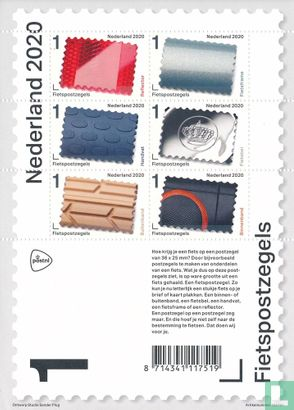 Netherlands [NLD] - Bicycle stamps