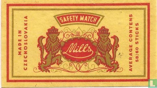 Mills Safety Match