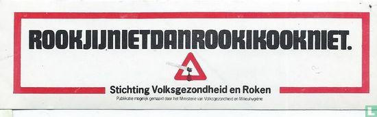 Stichting volksgezondheid en roken - Rookjijnietdenrookikookniet