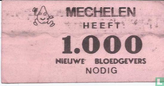 Belgische Rode Kruis - Mechelen heeft 1000 nieuwe bloedgevers nodig
