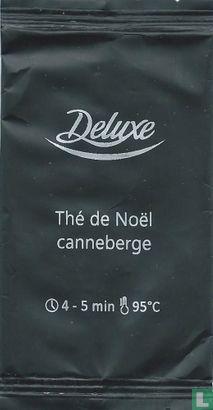 Deluxe - Thé de Noël canneberge