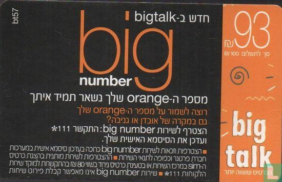 Orange - Big Talk / Big Number