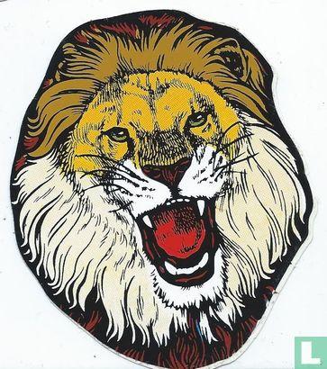 Kermissticker - Leeuw