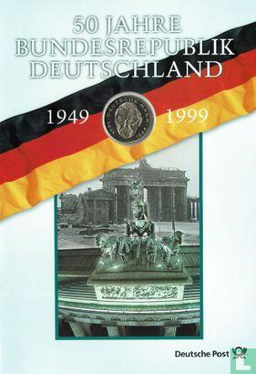 Deutschland - Deutschland 2 Mark 1994 (D - Ludwig Erhard - Numisbrief)