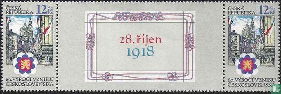Czechia - Establishment of Czechoslovakia (tab middle date)