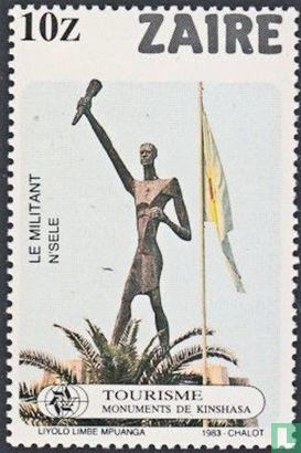 Congo-Kinshasa [COD] (Zaïre) - Monuments of Kinshasa