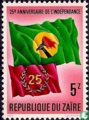 Congo-Kinshasa [COD] (Zaïre) - 25 jaar onafhankelijkheid