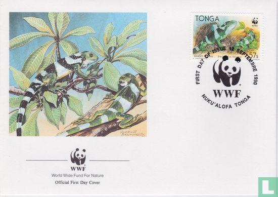 Tonga - WWF-Iguana