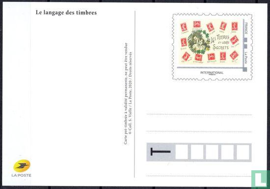 France [FRA] - Language of stamps