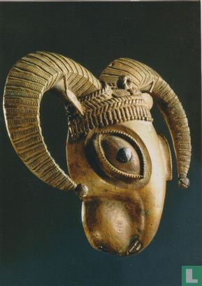 Owo - Pendant in the shape of the head of a ram