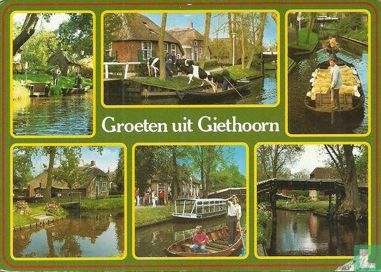 Giethoorn - Groeten uit Giethoorn