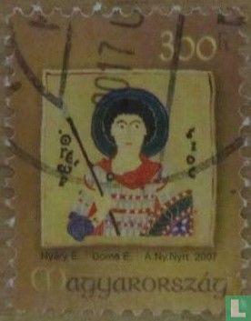 Hongarije - Schilderijen heilige