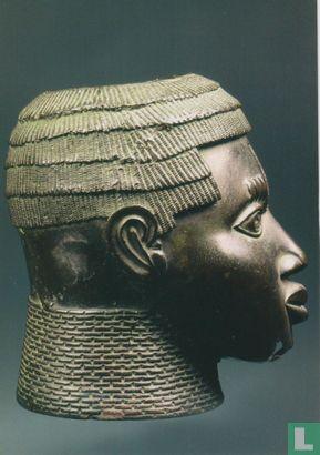Benin - Commemorative head of Oba (king)