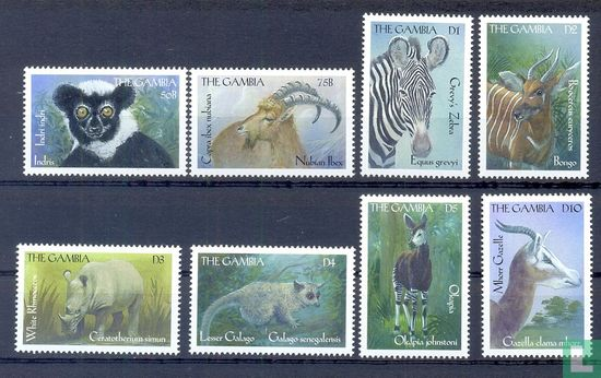 Gambia - Zoogdieren