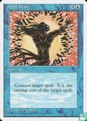 1995) Fourth Edition - Spell Blast