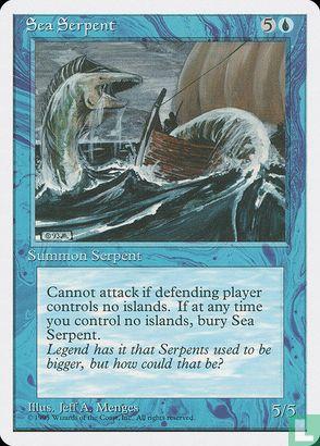 1995) Fourth Edition - Sea Serpent