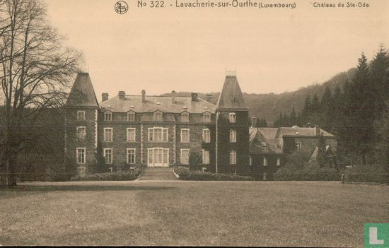Lavacherie sur Ourthe - Chateau  de Ste-Ode. - Image 1