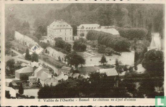 Bomal - Le Chateau vu a vol d'oiseau - Image 1