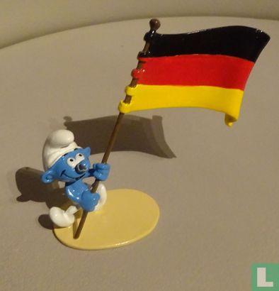 De vaandeldrager Smurf (Duitsland) - Afbeelding 1