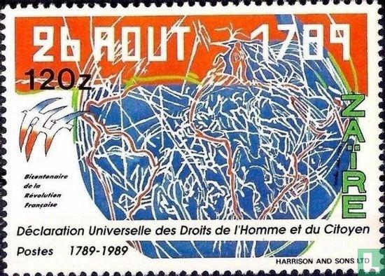 Congo-Kinshasa [COD] (Zaïre) - 200 years of French Revolution
