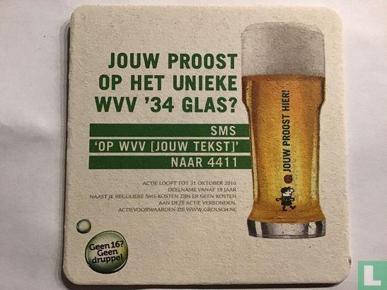 Nederland - Jouw proost op het unieke WVV '34 glas?