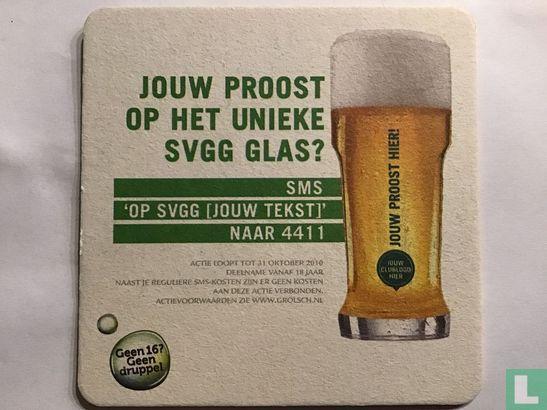 Netherlands (Holland) - Jouw proost op het unieke SVGG glas?