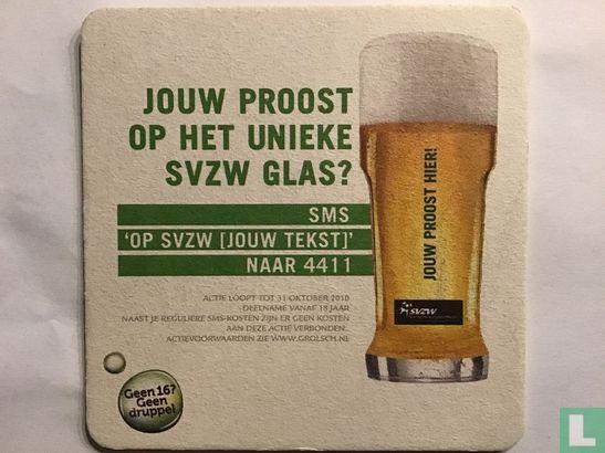 Nederland - Jouw proost op het unieke SVZWglas?