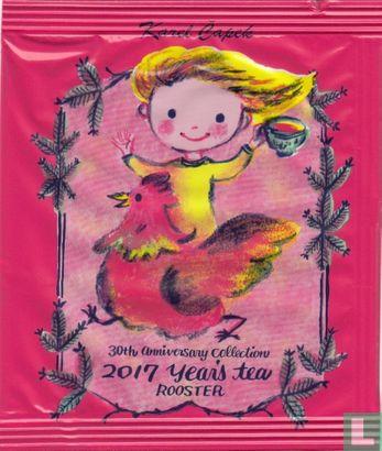 Karel Capek - 2017 Year's tea Rooster