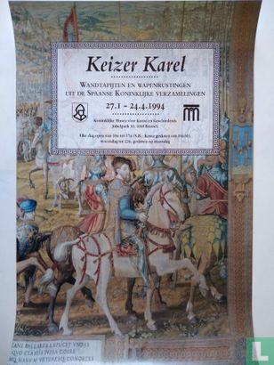 Aankondiging Expositie - Keizer Karel, wandtapijten en wapenrustingen