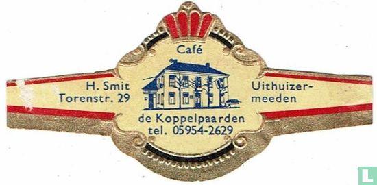 Abonné - Café de Koppelpaarden tel. 05954-2629 - H. Smit Torenstr. 29 - Uithuizer-meeden