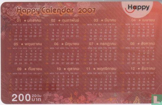 DTAC - Happy Calendar 2007