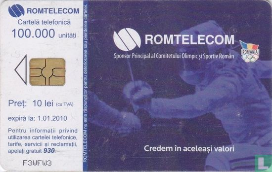 Romtelecom - The Romanian Olympic Committee 7