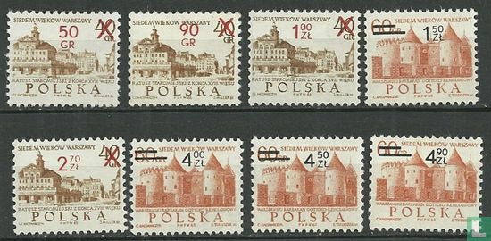 Poland [POL] - 700 years Warsaw with imprint