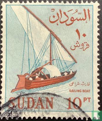 Sudan - Sailing Boat