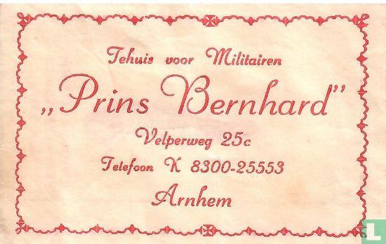 """Bag - Tehuis voor Militairen """"Prins Bernhard"""""""