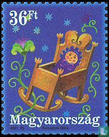 Hongarije - Groetzegels
