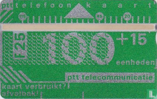 PTT Telecommunicatie - Standaardkaart 1986 Demonstratiekaart
