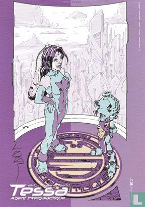 Comic ex-libris - Sidéral Killer