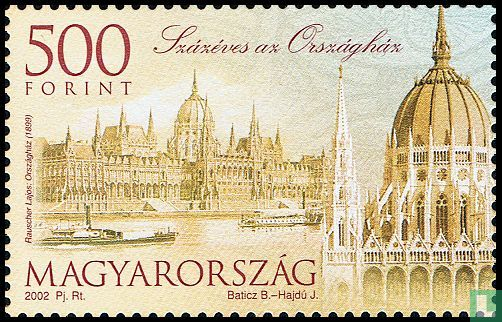 Hungary - Parliament building 100 years