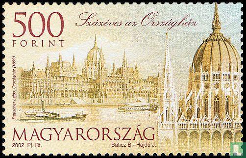 Hongarije - Parlementsgebouw 100 jaar
